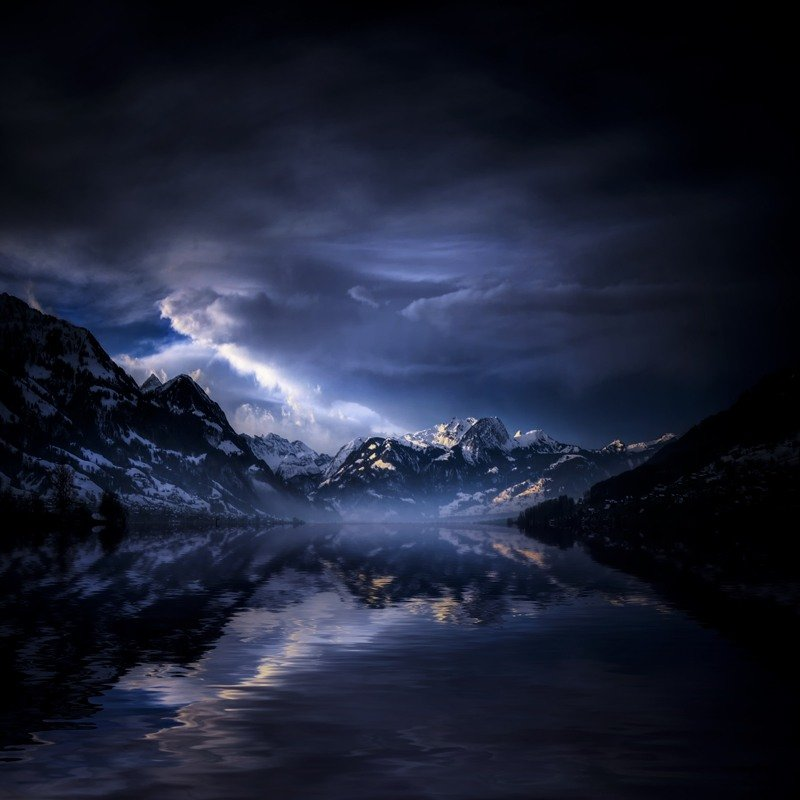 Красиво темные картинки