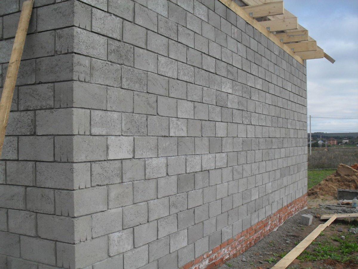 кладка стен из пескоблока