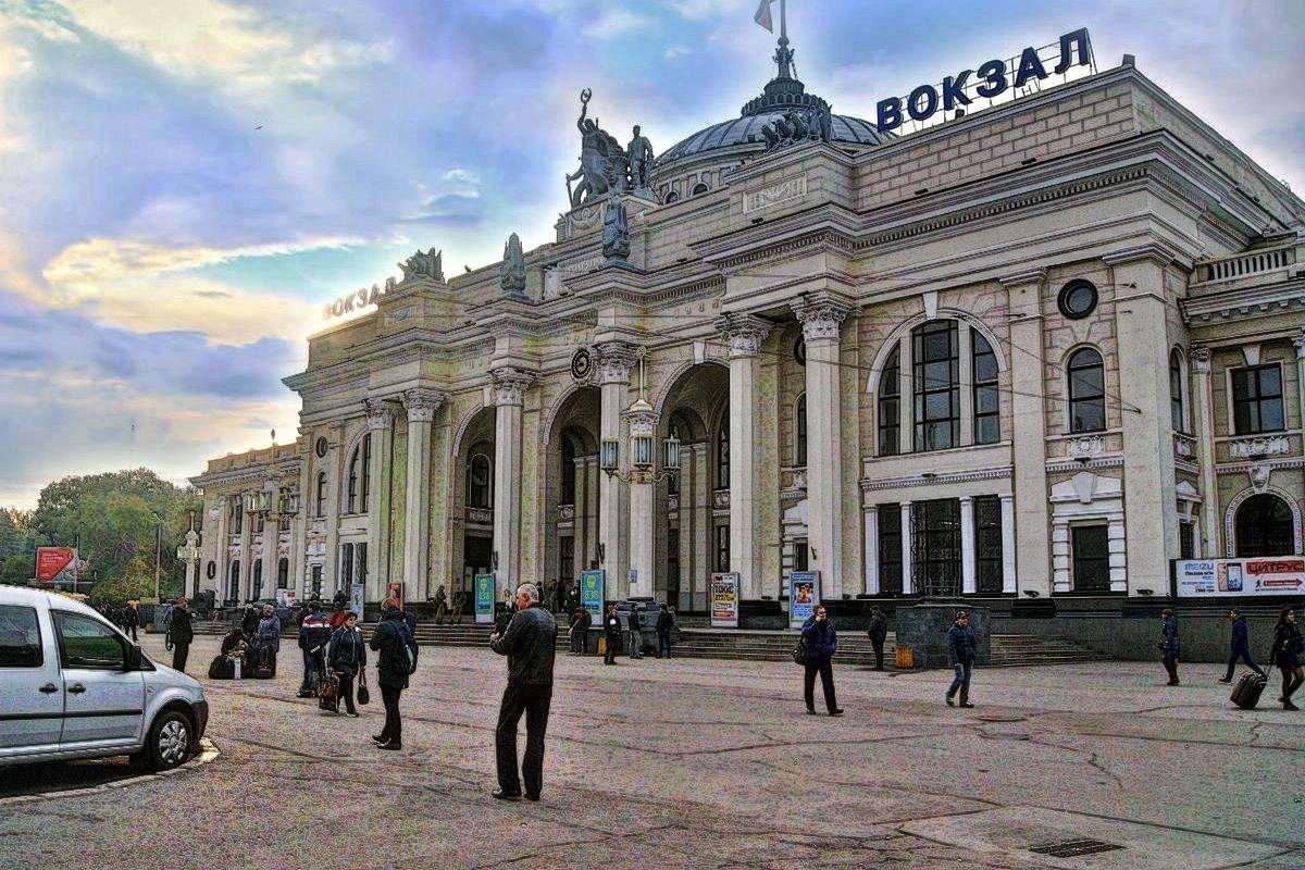 Фото украина одесса вокзал