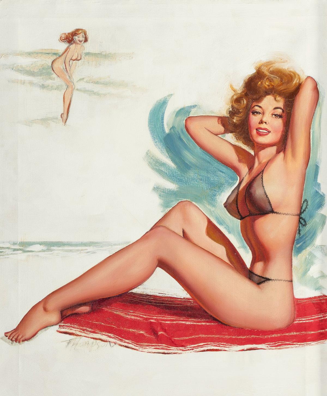 Постеры с девушками в купальниках