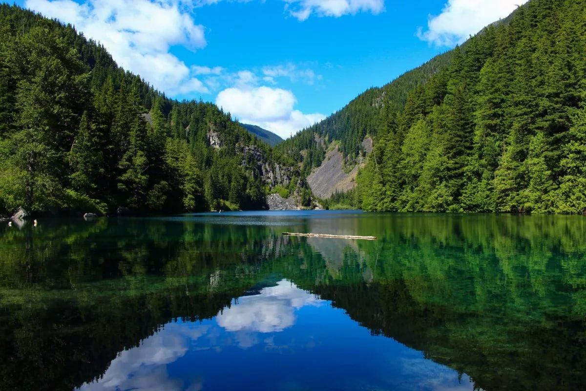 фото картинки озер время просто