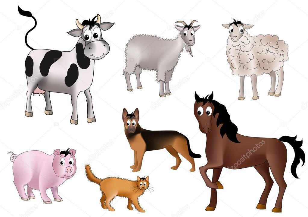 картинки коровы льва кошки собаки лошади после своего знаменитого
