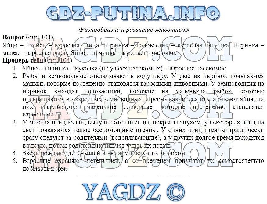 Окружающий Мир Третий Класс Гдз Путина