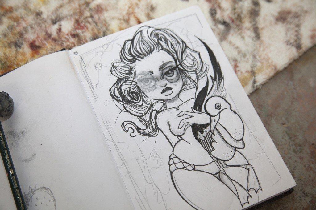 Картинки для срисовывания простые в скетчбук