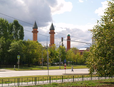 мечеть ярдям москва