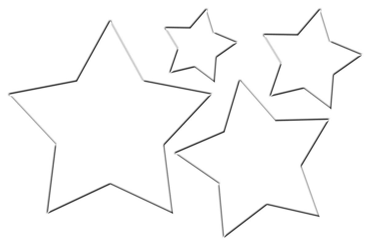 Открытка звезда шаблон, написать открытки