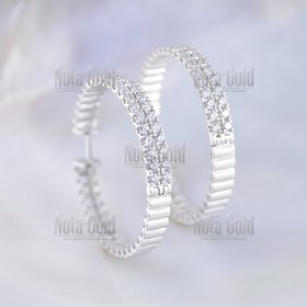 Обручальные кольца пули (патроны в магазине револьвера) из белого ... 820912aa1dc