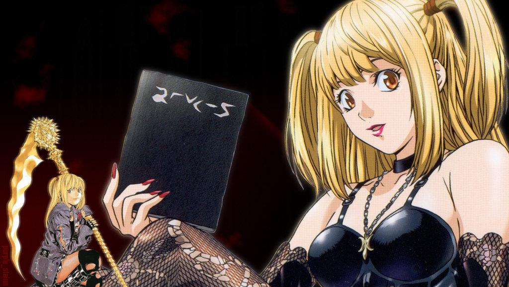Картинки тетрадь смерти аниме миса