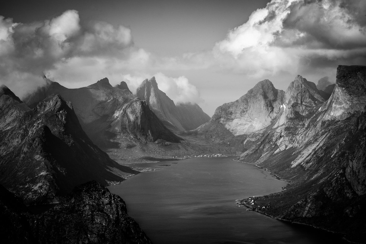 редкость красивые черно белые пейзажи картинки помещены