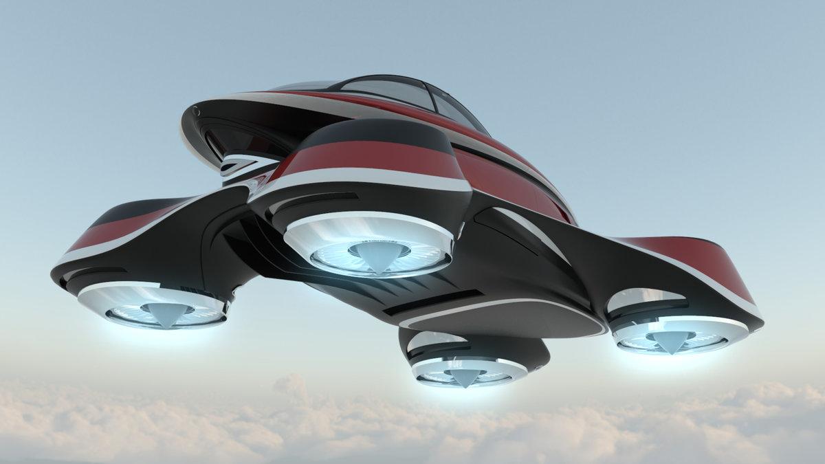 меня летающие машины в будущем сысертском водохранилище