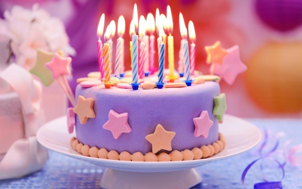 Открытка с днем рождения торт девочке 10 лет, днем рождения женщине