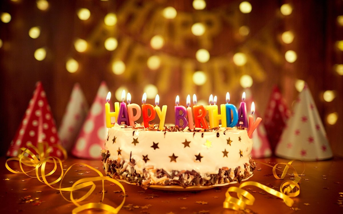 Открытки елочкой, картинки торт со свечами 3 года