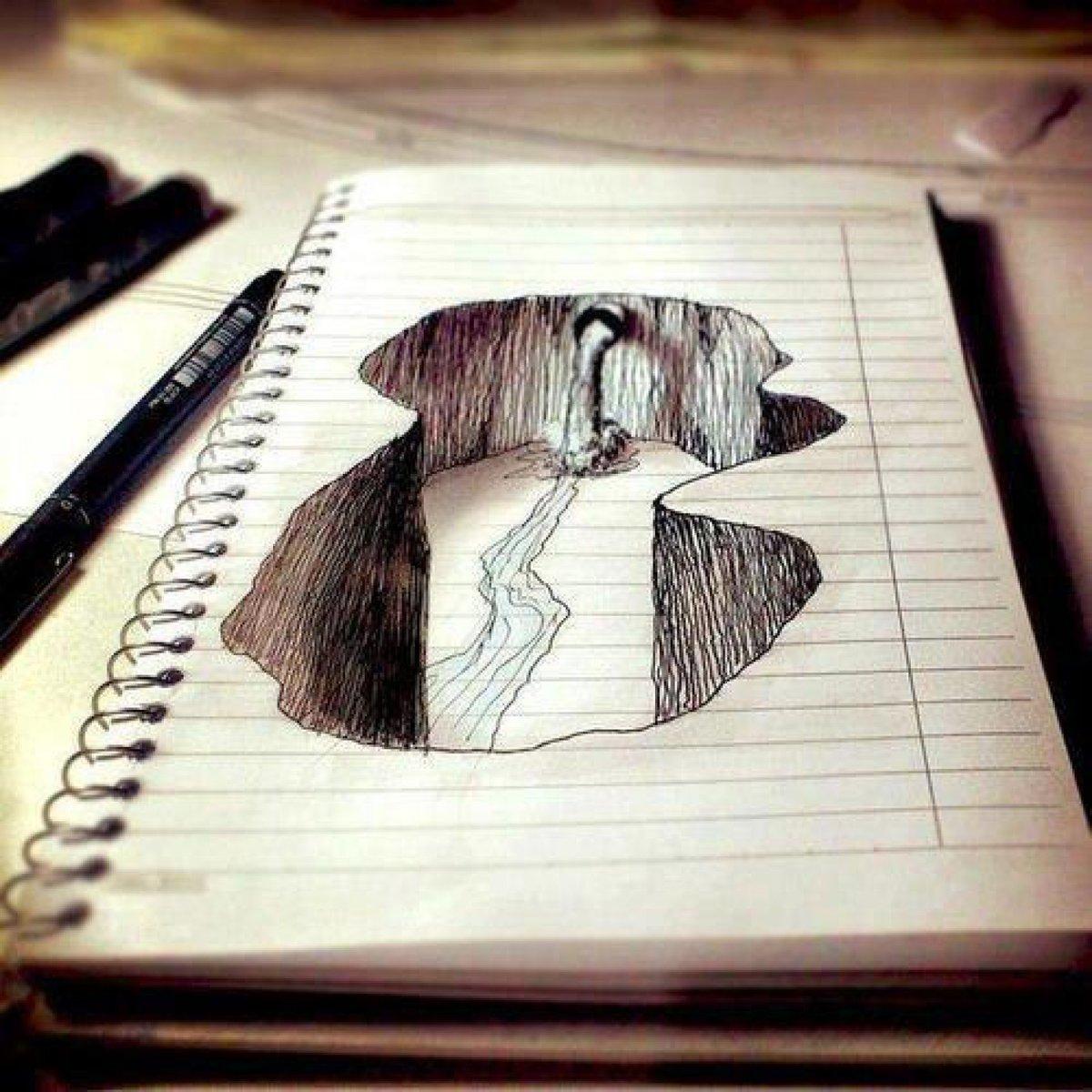 Рисунки прикольные и красивые