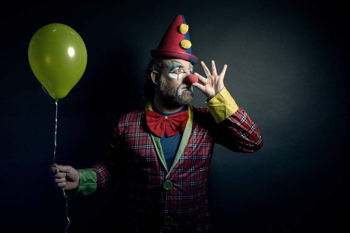 мужа-пенсионера какой-то фото красивых клоунов накипью