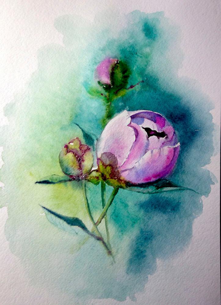 Картинки рисунки акварелью рисовать