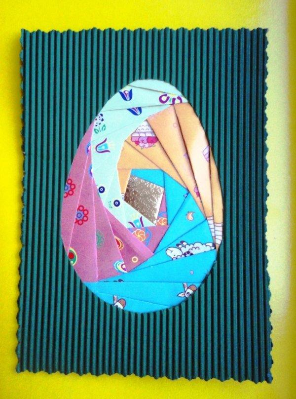 Мастер класс открытка в технике айрис фолдинг