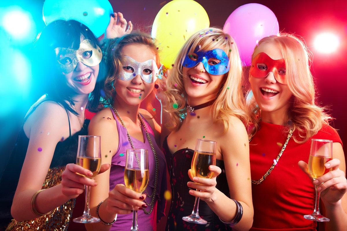 Вечеринка девочка картинка