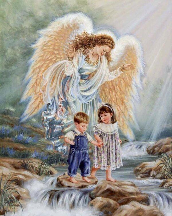 Ангела в изголовье картинки