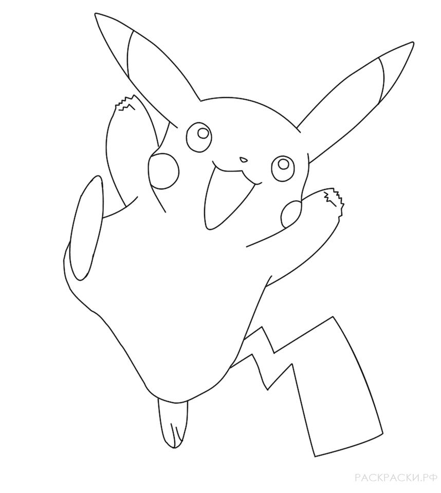 Покемоны срисовать картинки