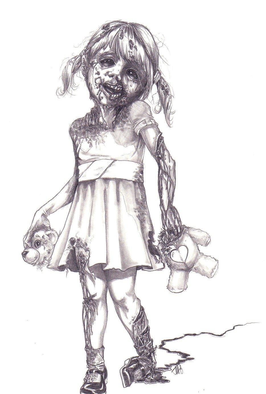 его камер картинки зомби в карандаше всегда тебя