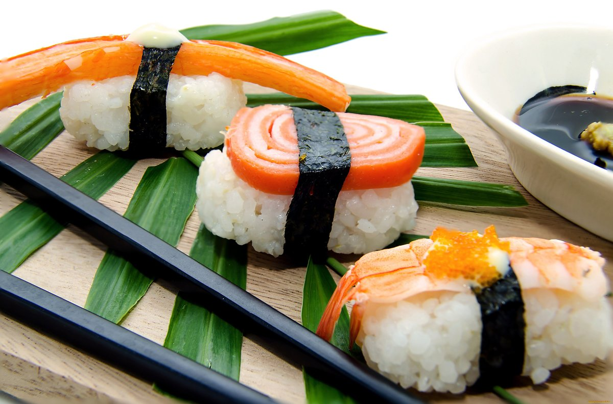 Картинки японская кухня суши роллы