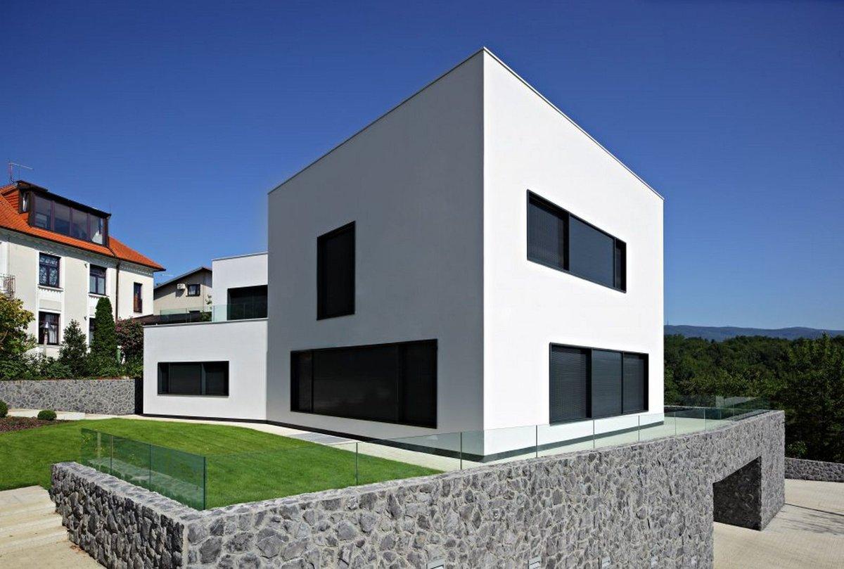 прямоугольный дом картинки