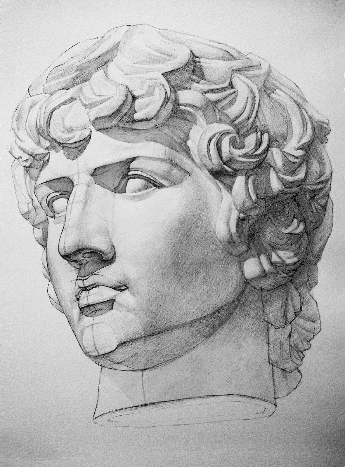 Картинки скульптура головы
