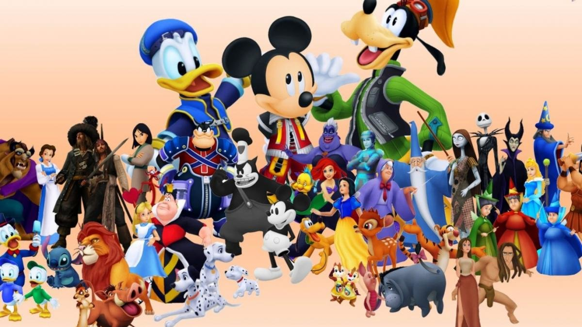 думаю картинки самых популярных мульт героев костюмы