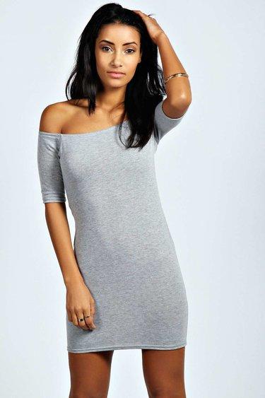 07b9402733a0 Текстурированное короткое черное женское платье с v-образным вырезом ...