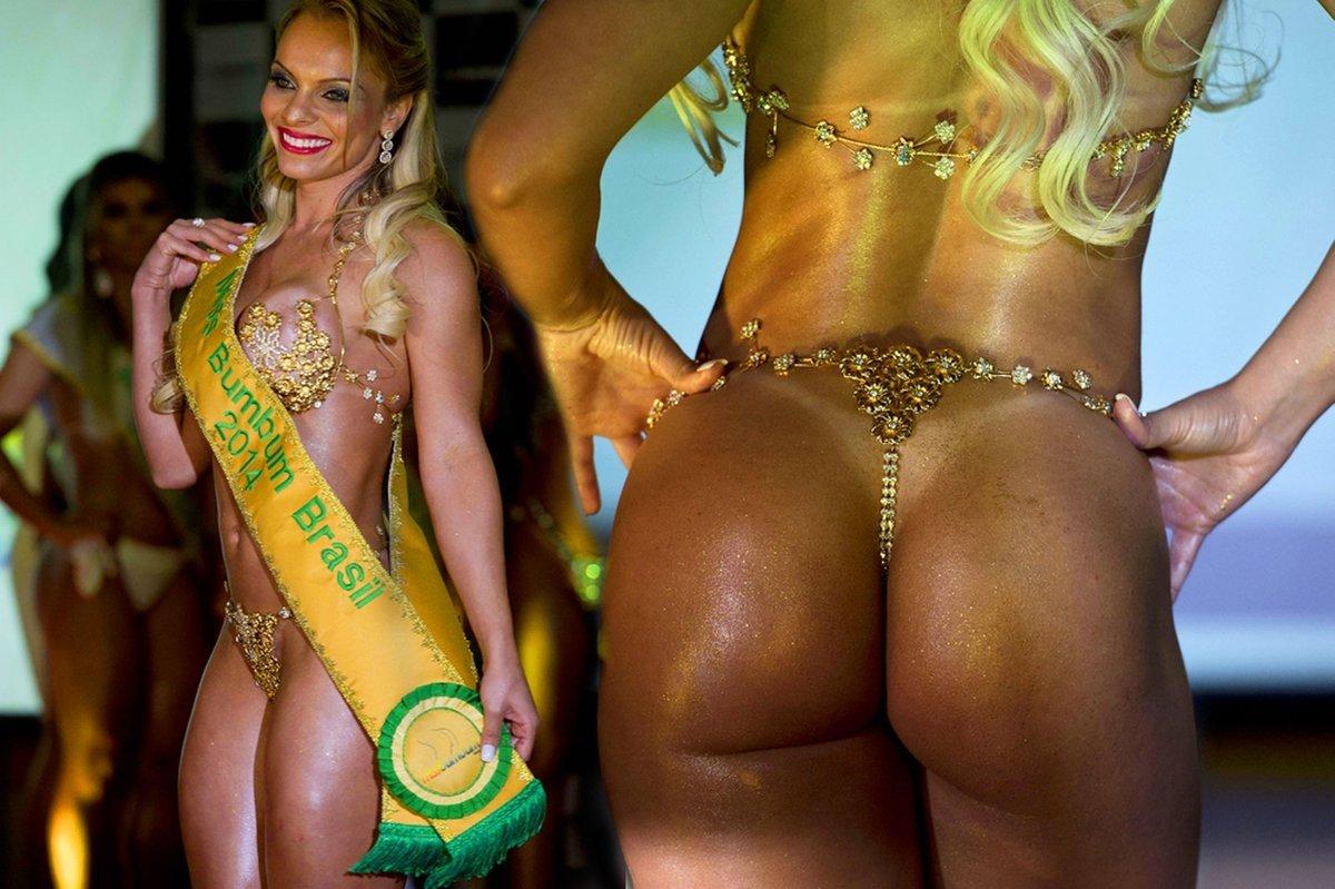 бразильские жопа красивая потом