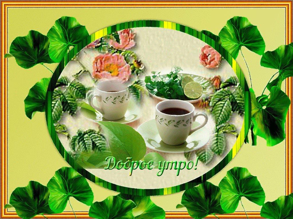Большие открытки доброе утро отличного дня, картинки днем