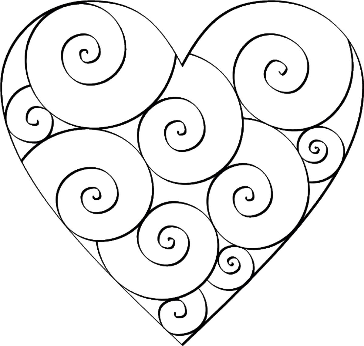 лучница рисовать картинки сердечки с узорами акции