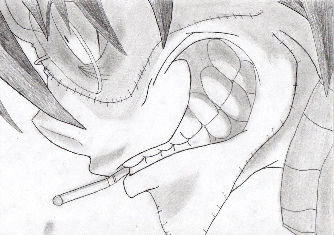 Карандашом рисунки прикольные аниме