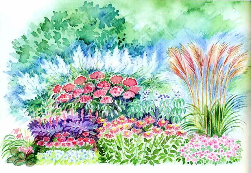 Вторниках, клумба с осенними цветами картинки для детей