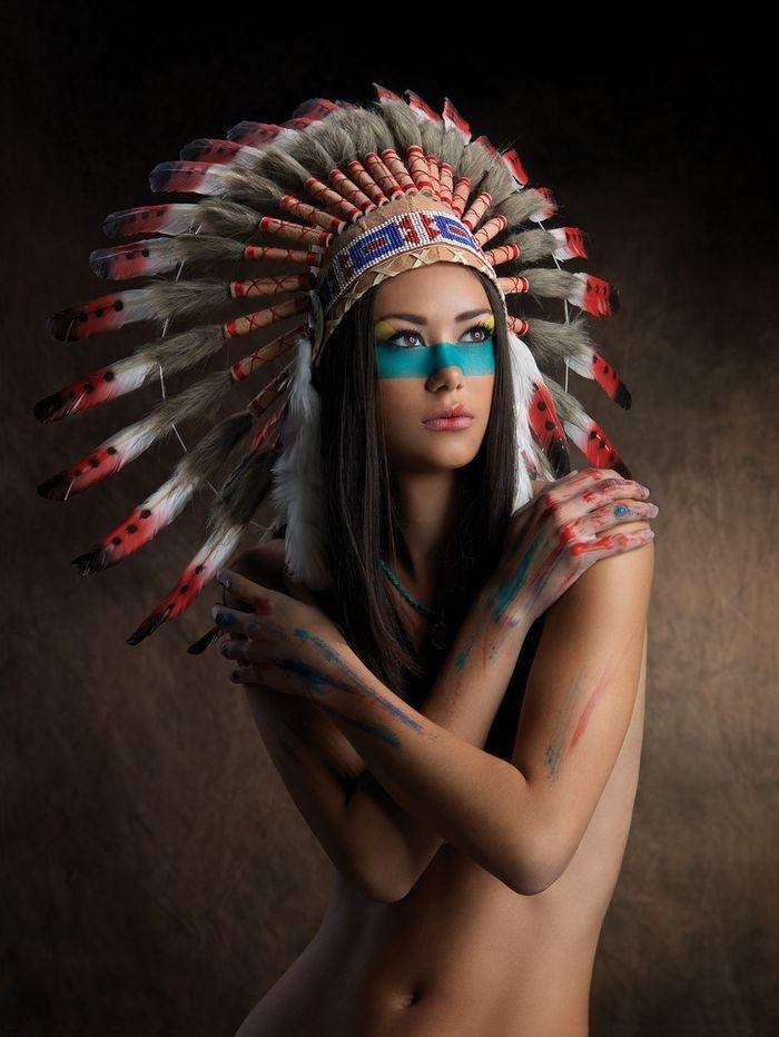 индианки фото девушек голых - 3