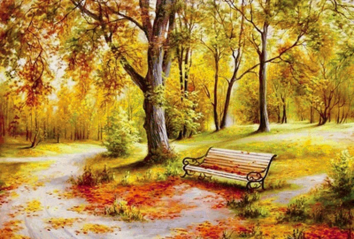 красивые картинки иллюстрации про осень