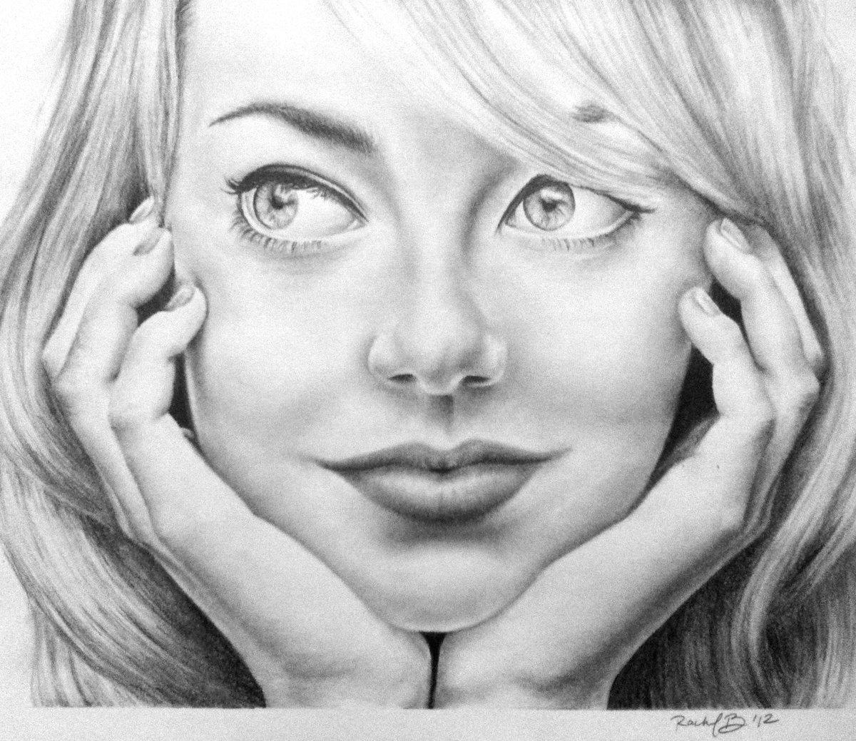 Картинки люди рисунки лица