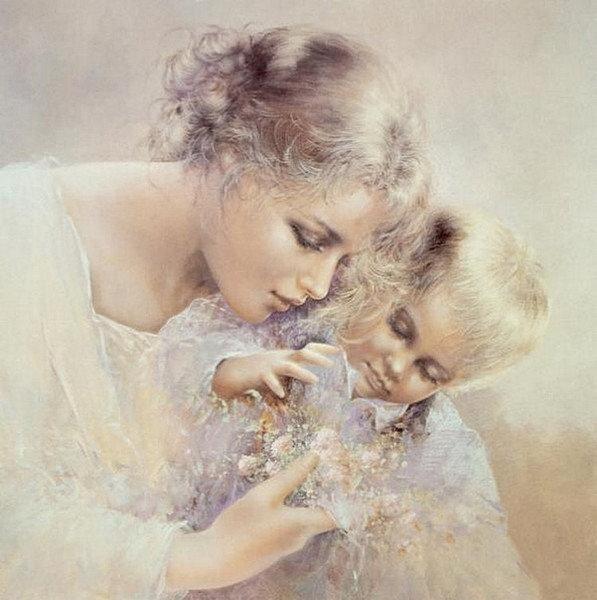 Открытки счастливая мама