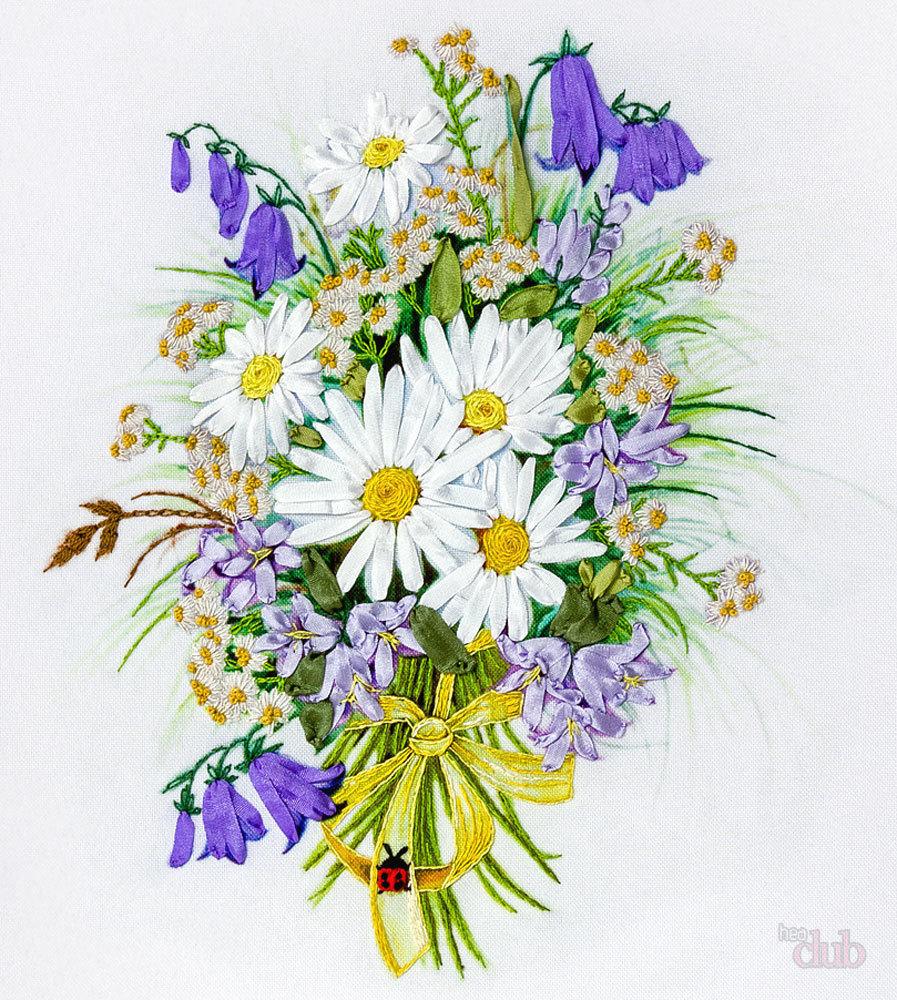 Рисуем букет цветов открытка, класс