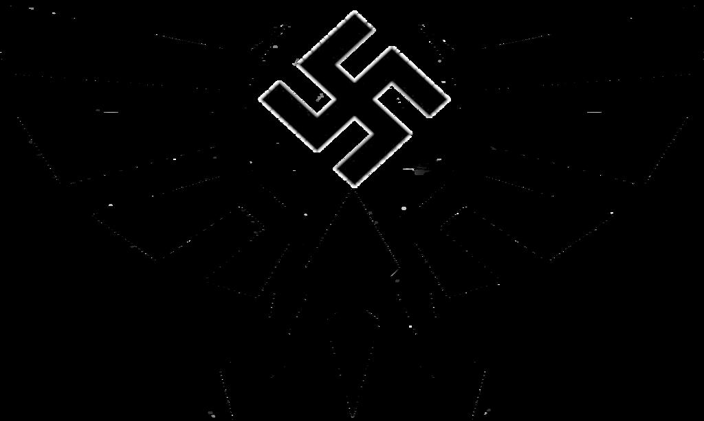 Картинка из символов свастика