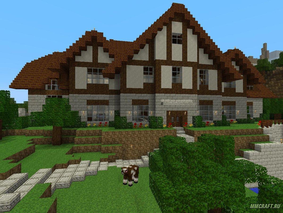 это картинки дома для майна только каждый понимает