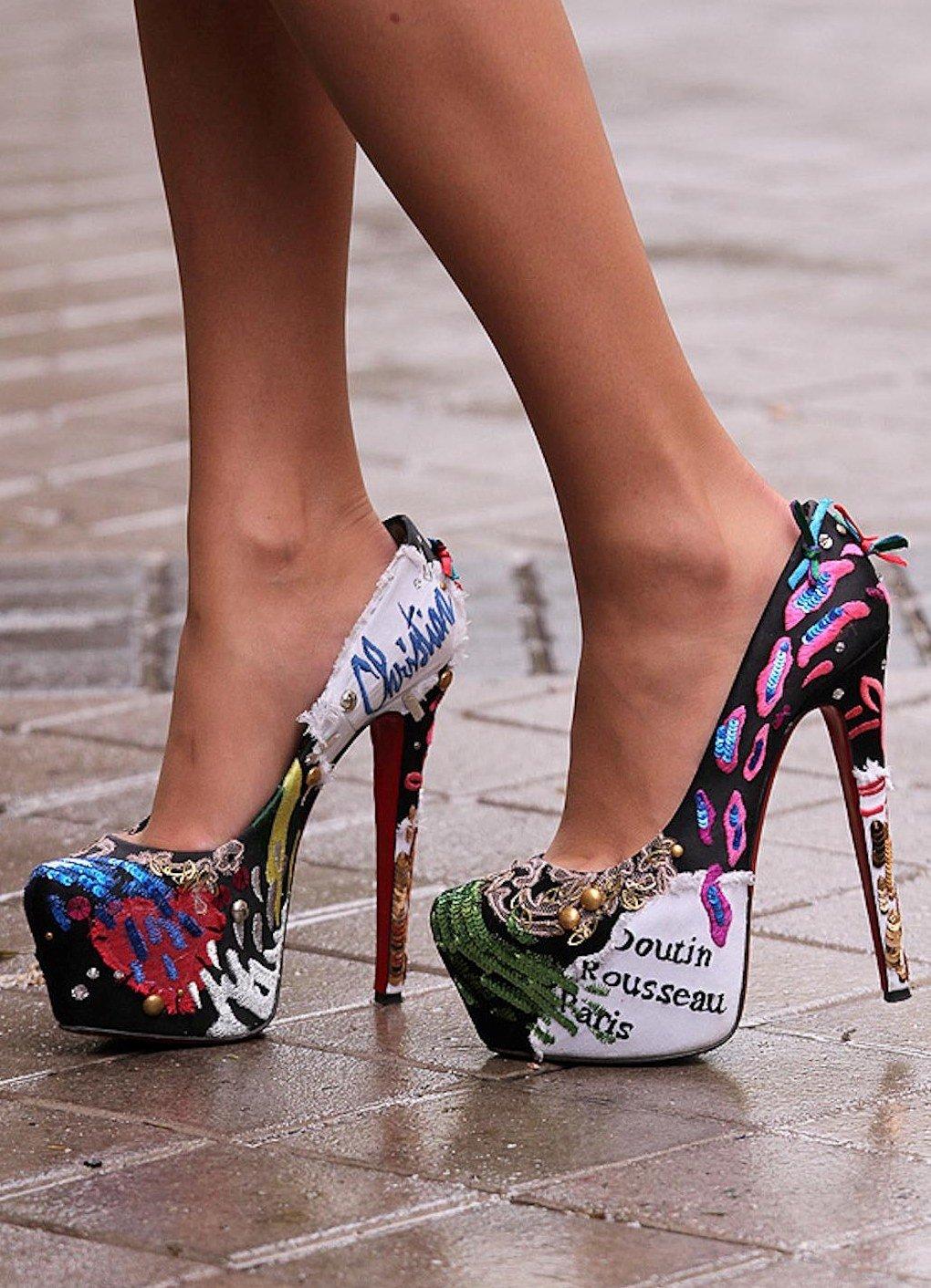 Картинки красивые туфли на ногах