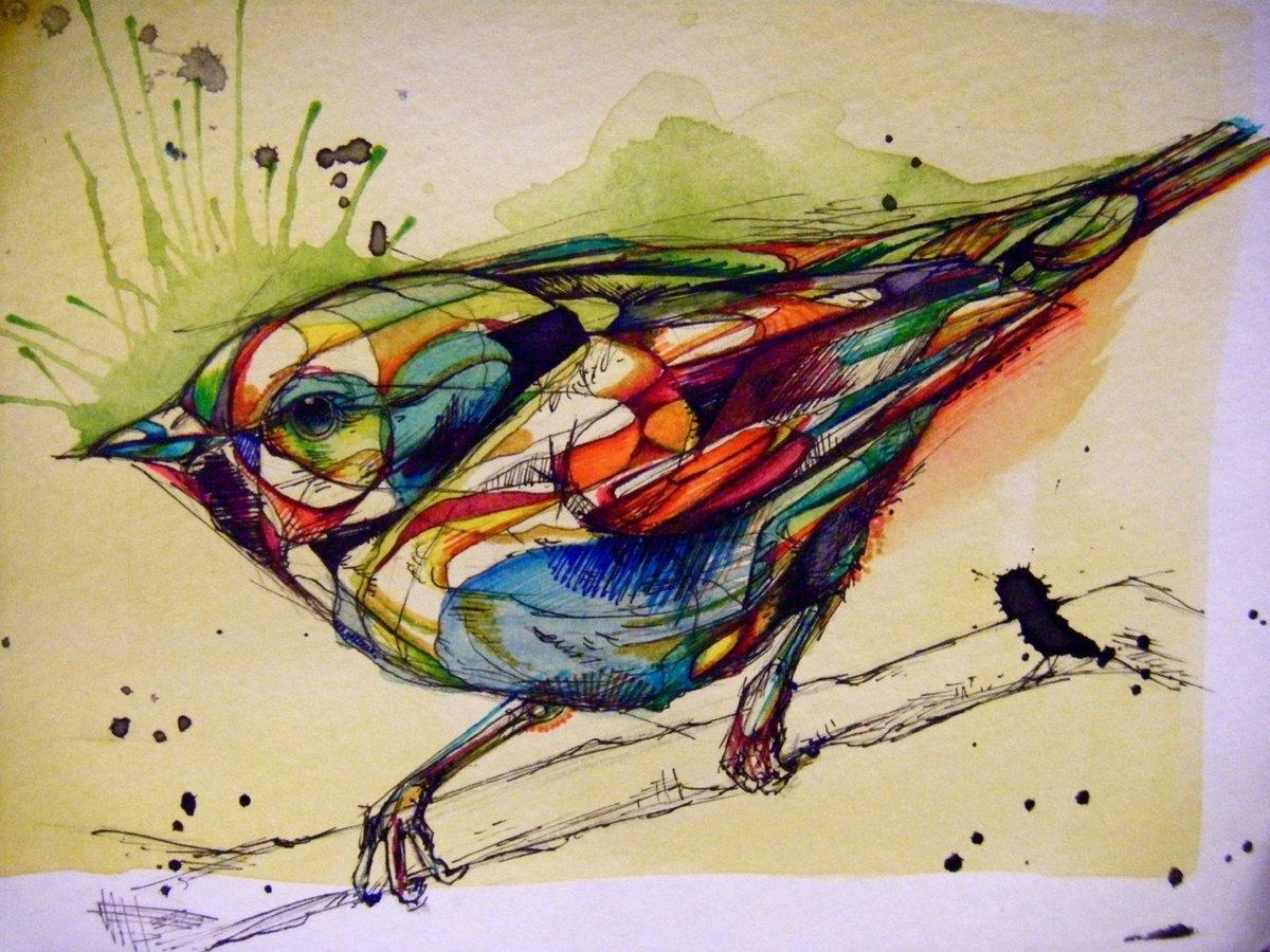 мозаичный сюжет цветная графика фото овраг ельниковской роще