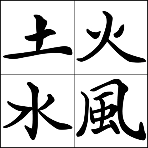 Chinese Symbol Brushes