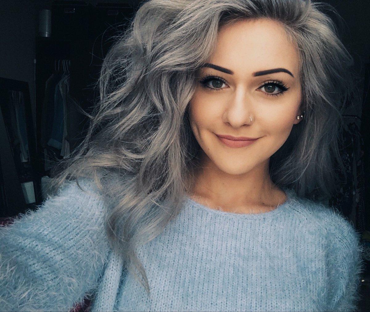 Пепельный оттенок волос картинки