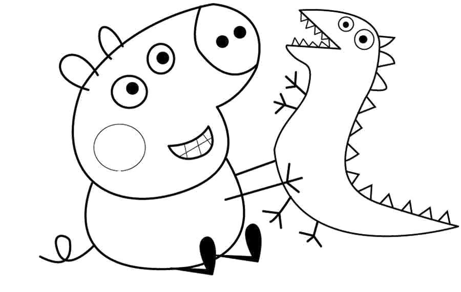 «Свинка Пеппа. Раскраска картинок для малышей» — карточка ...