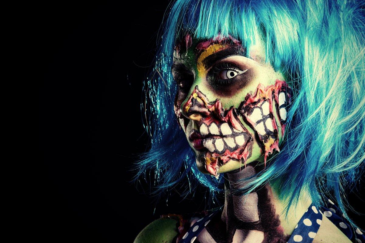 Девушка зомби обои
