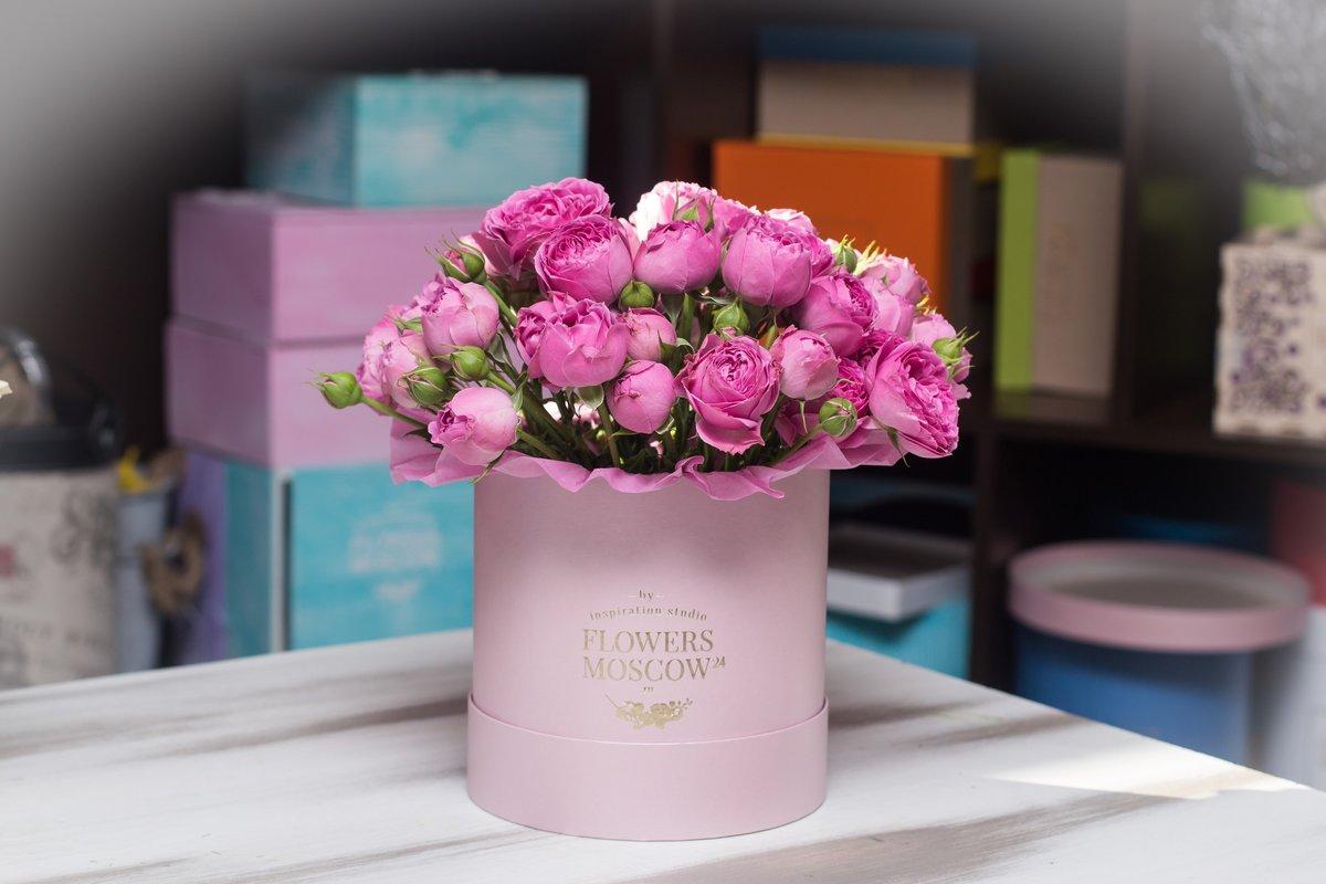 Цветы купить, недорогие цветы в коробке москва