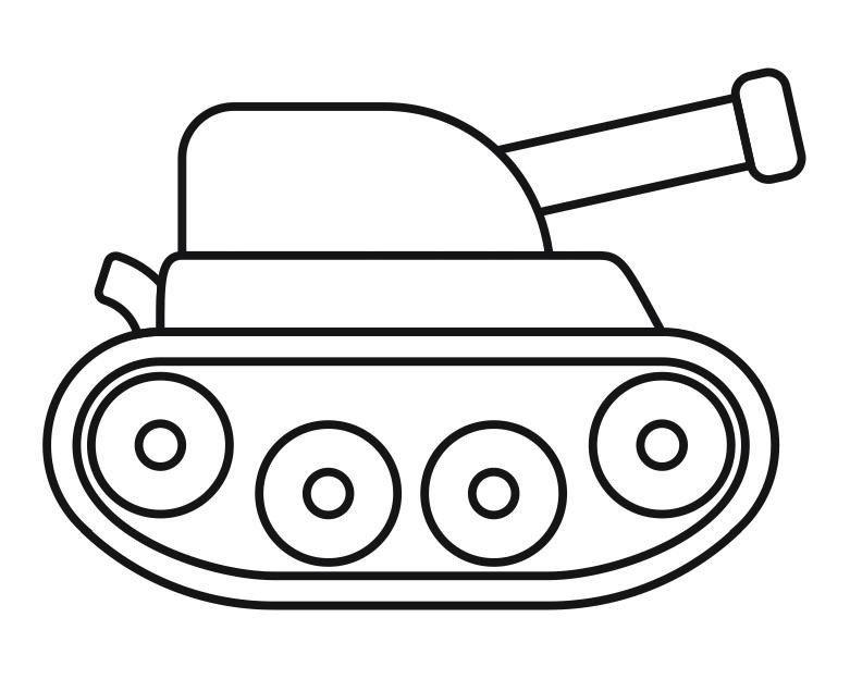 Лет мужчине, аппликация танк шаблоны распечатать