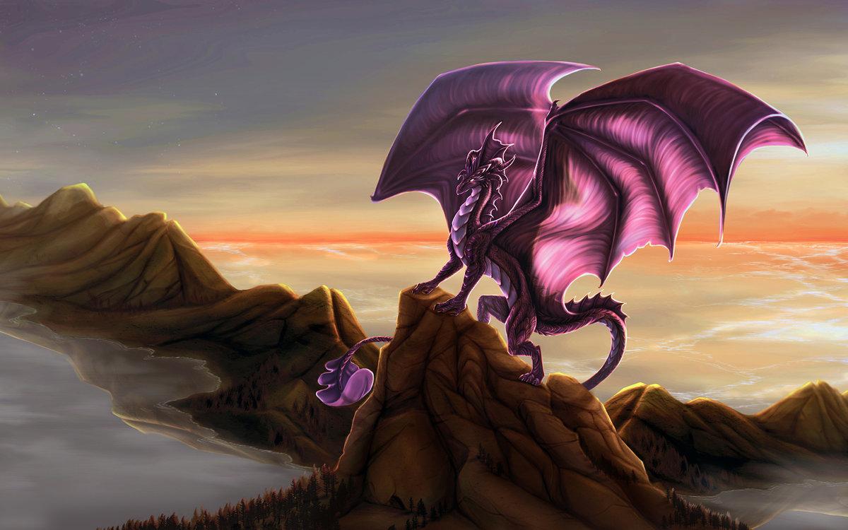Красивые картинки с драконами, поздравляю днем рождения